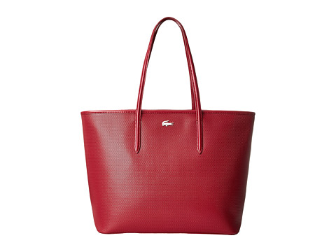 Lacoste - Chantaco Medium Tote (Chili Pepper) Tote Handbags