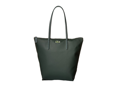 Lacoste - L.12.12 Concept M1 Vertical Tote Bag (Vert Green) Tote Handbags