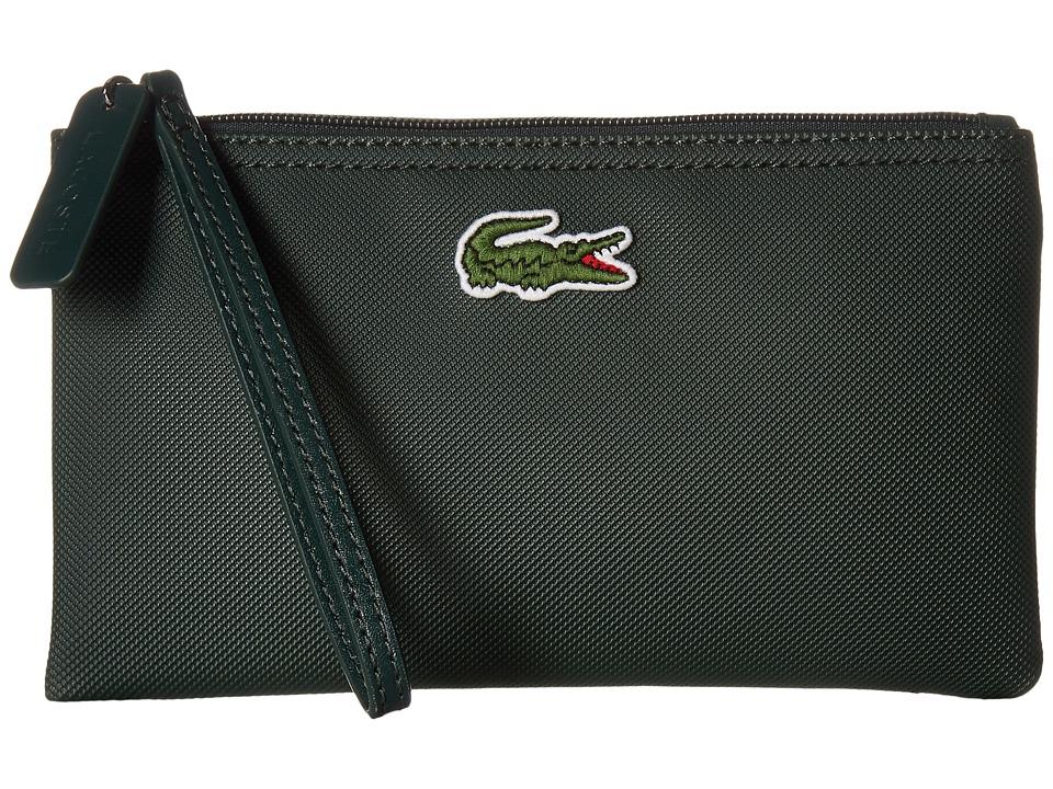 Lacoste - L1212 Wristlet (Vert Green) Clutch Handbags