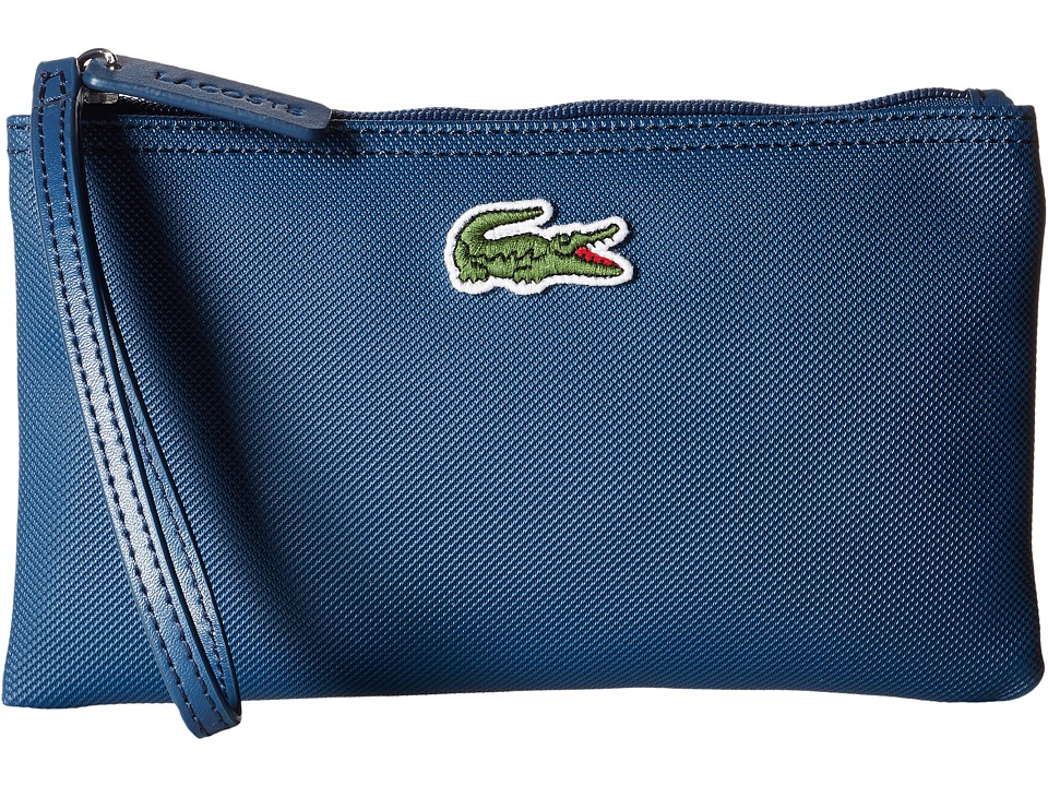 Lacoste - L1212 Wristlet (Teal Blue) Clutch Handbags