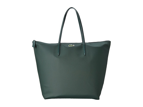 Lacoste - L1212 Concept Travel Shopping Bag (Deep Forest) Tote Handbags