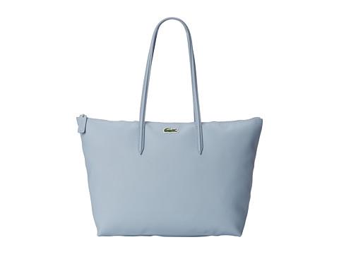 Lacoste - L.12.12 Concept Large Shopping Bag (Dusty Blue) Handbags