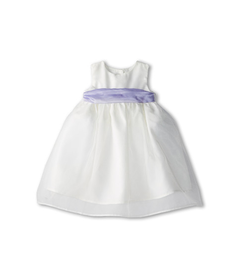 Us Angels - Sleeveless Organza Dress (Infant) (Lilac) Girl