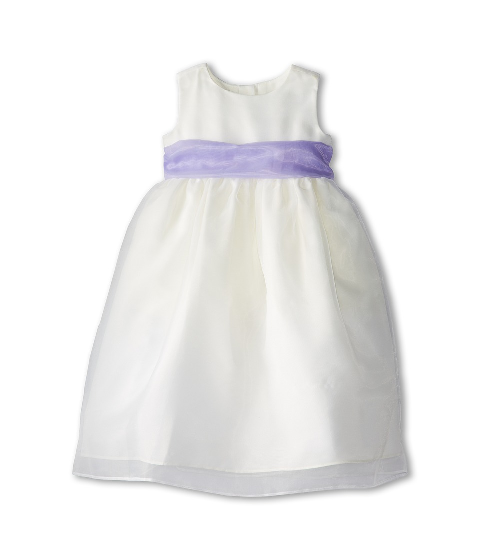 Us Angels - Sleeveless Organza Dress (Toddler) (Lilac) Girl