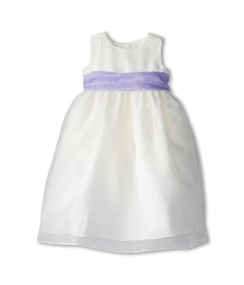 Us Angels - Sleeveless Organza Dress (Toddler) (Lilac) Girl's Clothing