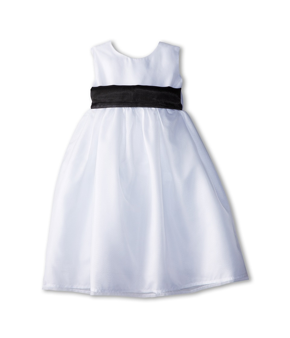 Us Angels - Sleeveless Organza Dress (Toddler) (Black 1) Girl's Clothing