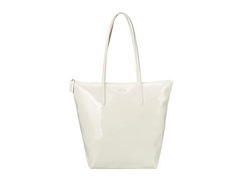 Lacoste - M1 Vertical Tote Bag (Light Gray) Tote Handbags
