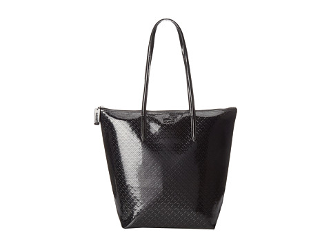 Lacoste - M1 Vertical Tote Bag (Black) Tote Handbags