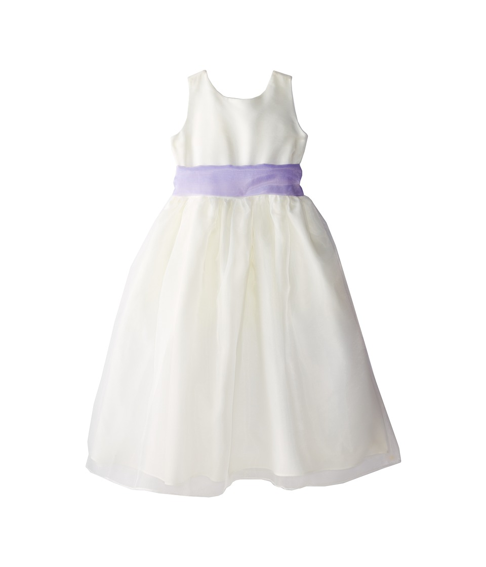 Us Angels - Sleeveless Organza Dress (Big Kids) (Lilac) Girl's Dress