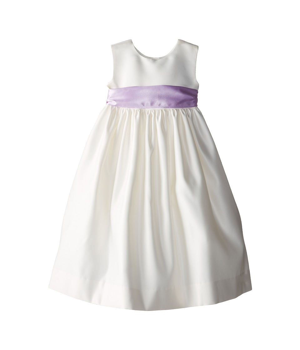 Us Angels - Sleeveless Satin Dress (Toddler) (Lilac) Girl's Dress