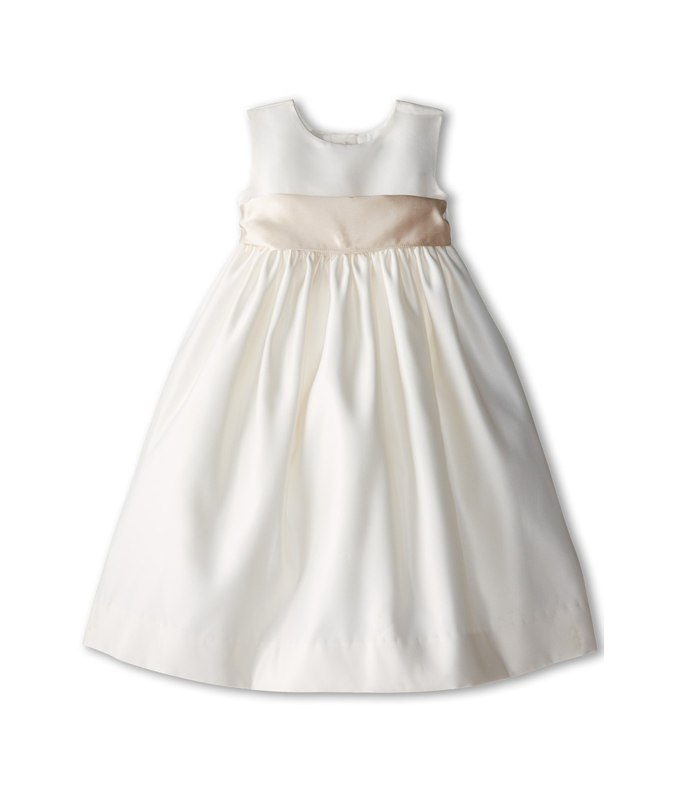 Us Angels - Sleeveless Satin Dress (Toddler) (Champagne) Girl's Dress