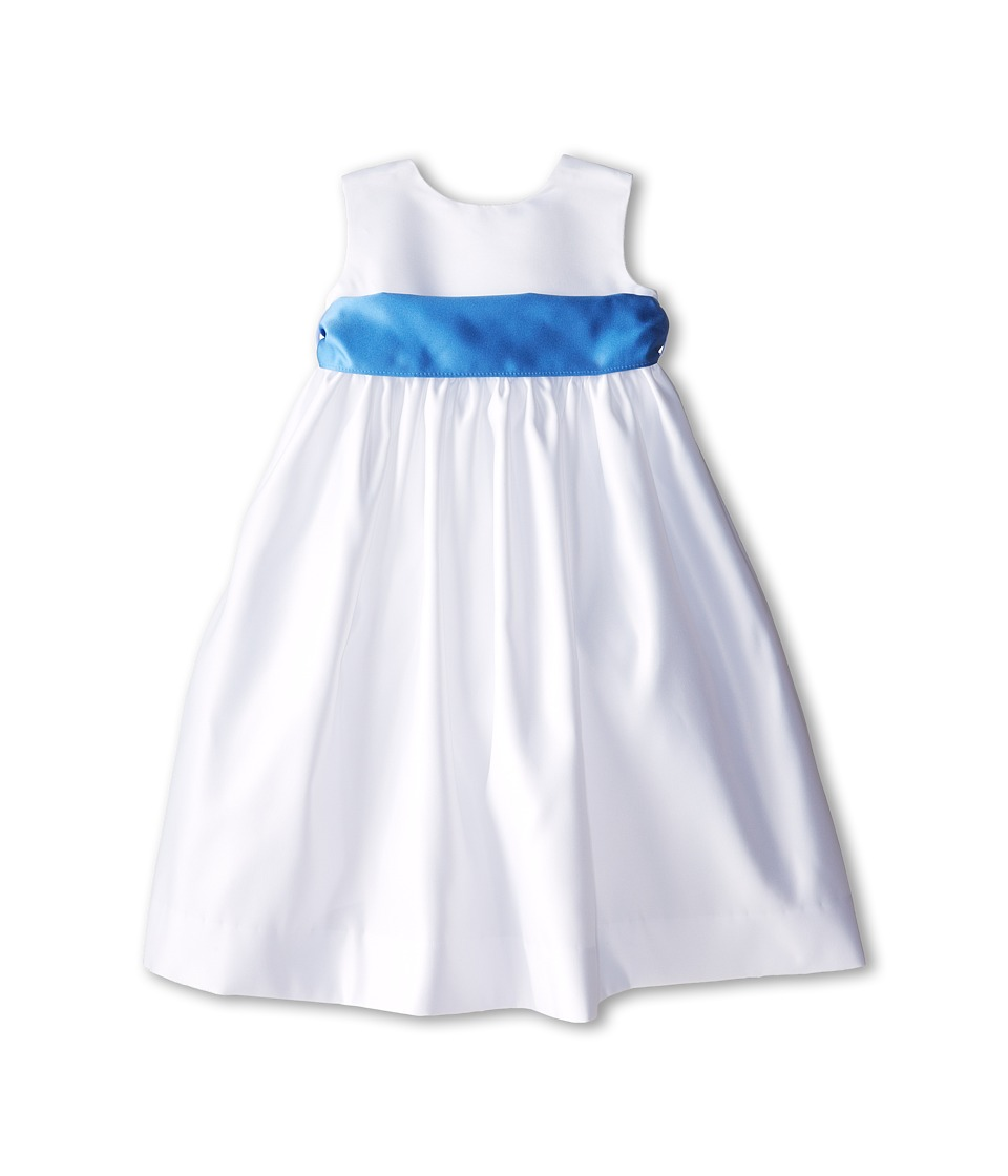 Us Angels - Sleeveless Satin Dress (Toddler) (Cornflower) Girl's Dress