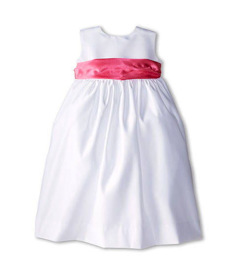 Us Angels - Sleeveless Satin Dress (Toddler) (Fuchsia) Girl
