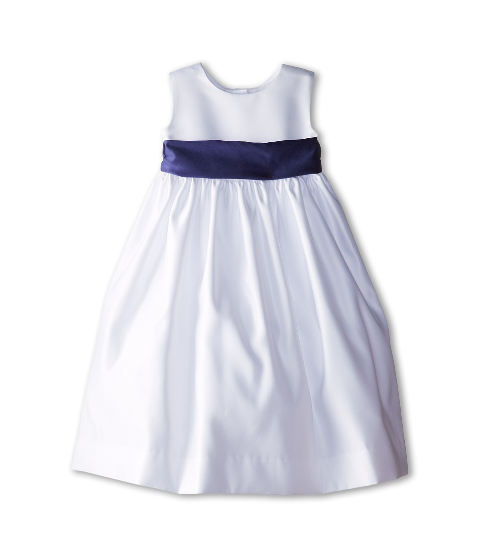 Us Angels - Sleeveless Satin Dress (Toddler) (New Purple) Girl's Dress