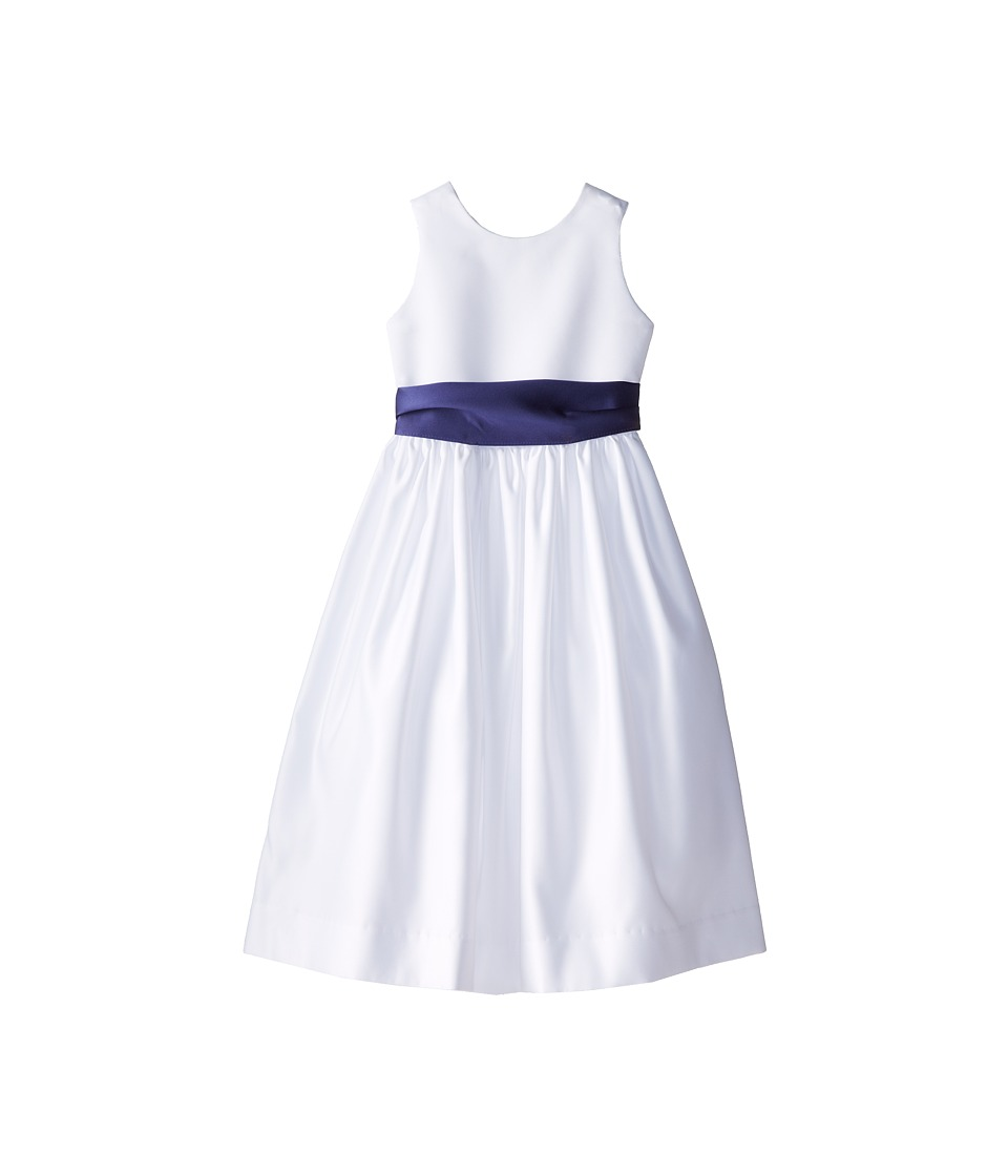 Us Angels - Sleeveless Satin Dress (Little Kids) (New Purple) Girl's Dress