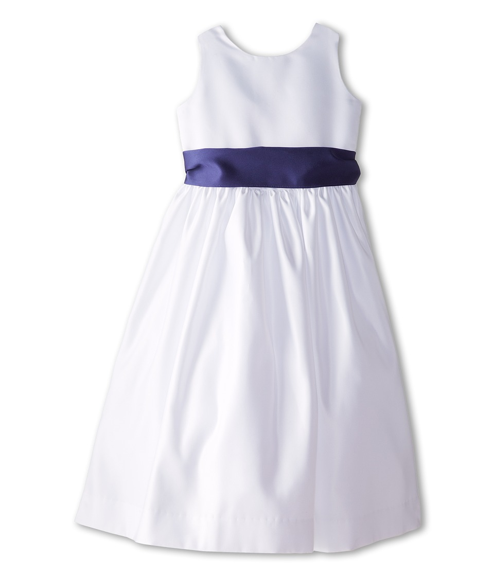 Us Angels - Sleeveless Satin Dress (Big Kids) (New Purple) Girl's Dress