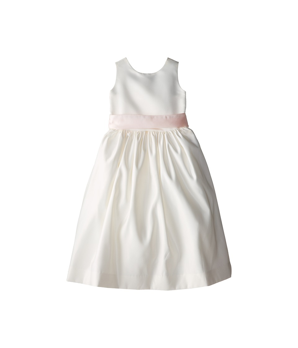 Us Angels - Sleeveless Satin Dress (Big Kids) (Blush Pink 1) Girl's Dress