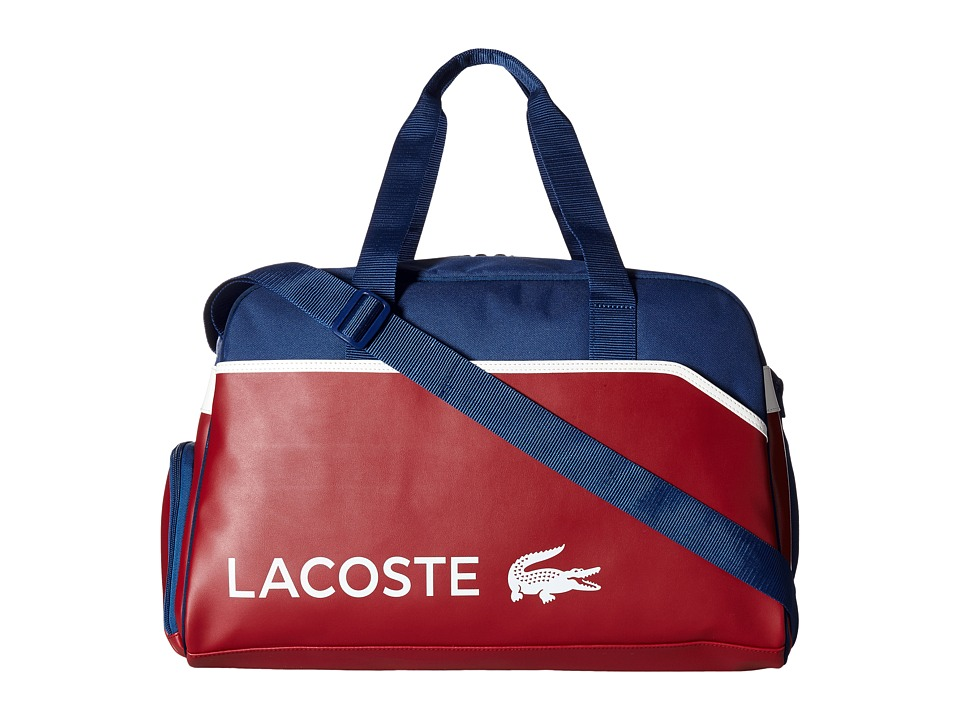 Lacoste - Ultimum Duffel Bag (Chili Pepper Estate Blue) Duffel Bags