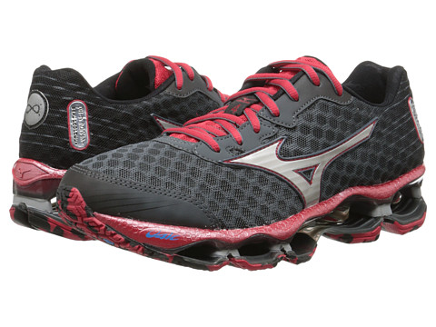 Mizuno - Wave Prophecy 4 (Turbulence/Silver/Chinese Red) Men