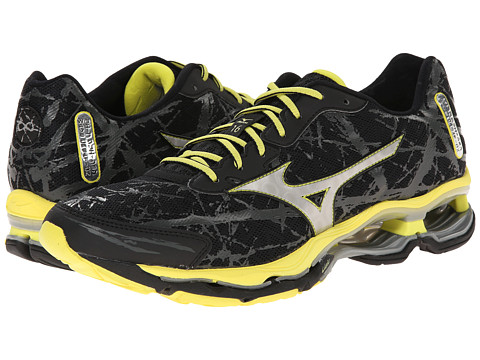 Mizuno - Wave Creation 16 (Black/Bolt) Men