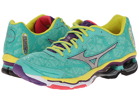 Mizuno - Wave Creation 16 (Florida Keys/Silver) Women