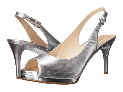 Nine West - Cinema (Medium Silver Metallic) High Heels