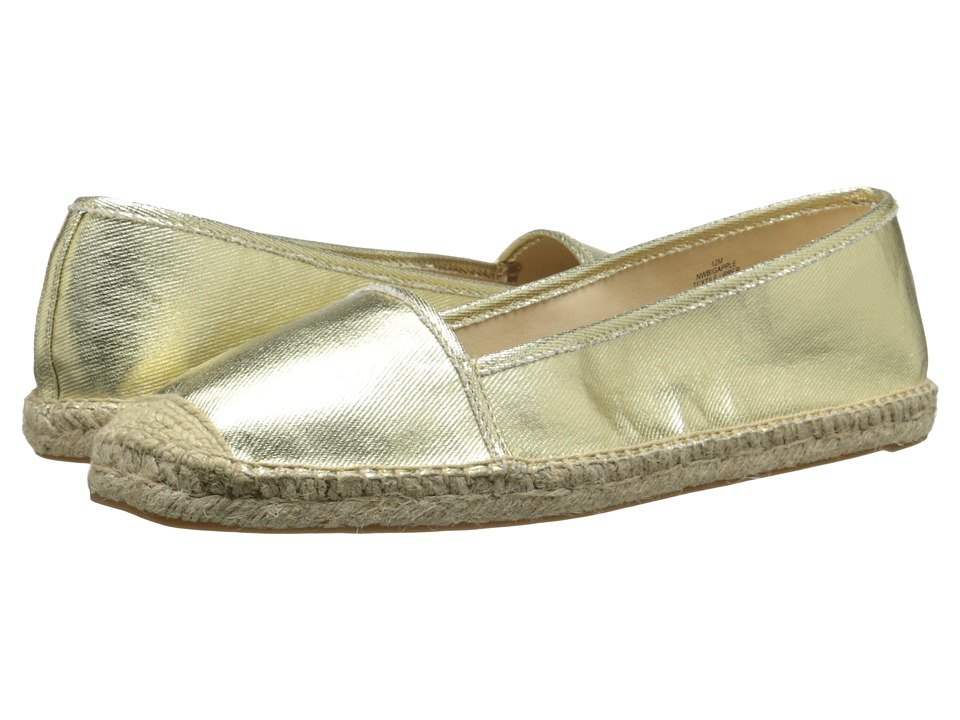 Nine West Bigapple (Light Gold Synthetic) Women