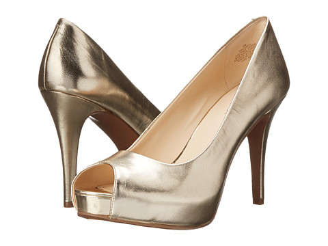 Nine West - Camya (Light Gold Metallic 1) High Heels