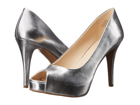 Nine West - Camya (Medium Silver Metallic 1) High Heels