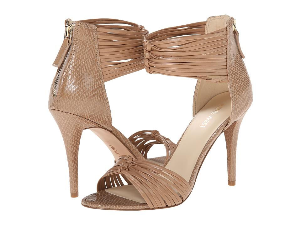 Nine West - Dechico (Light Natural/Light Natural Synthetic) High Heels