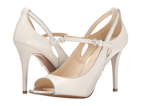 Nine West - Derby (Off White/Off White Leather) High Heels