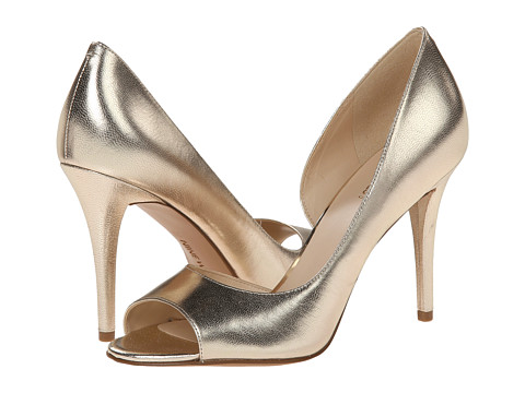 Nine West - Dorey (Light Gold Metallic) High Heels