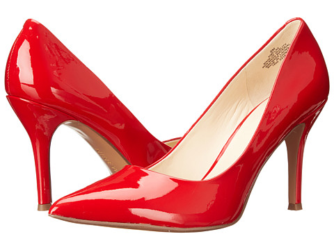 Nine West - Flax (Red Synthetic 1) High Heels