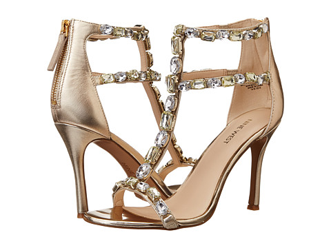 Nine West - Fresh (Light Gold/Light Gold Synthetic) High Heels