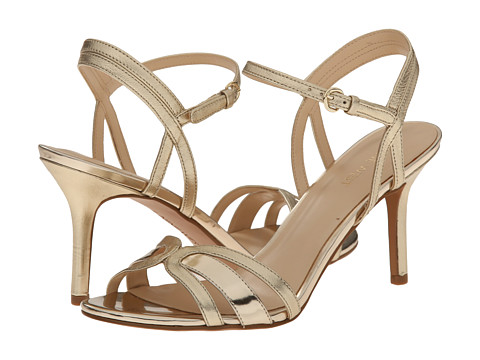 Nine West - Gardenia (Light Gold/Light Gold Metallic) High Heels