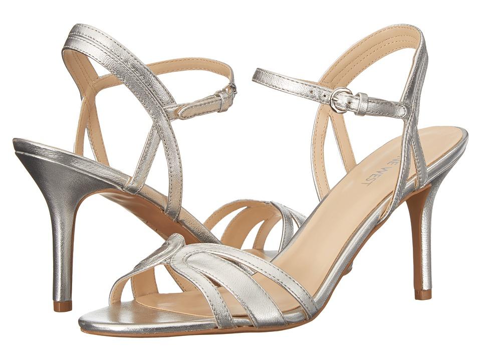 Nine West - Gardenia (Silver Synthetic) High Heels