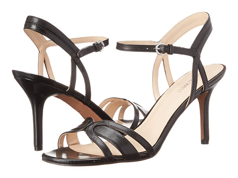 Nine West - Gardenia (Black Leather) High Heels