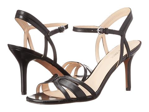 Nine West - Gardenia (Black Leather) High Heels