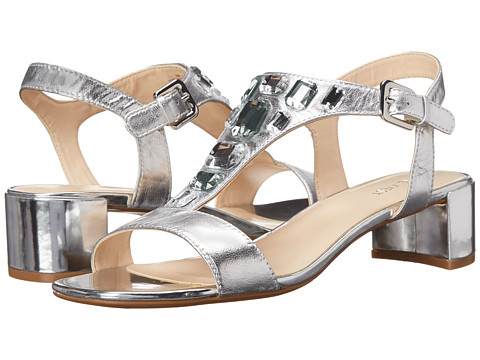 Nine West - Hanoverian (Silver Metallic) High Heels