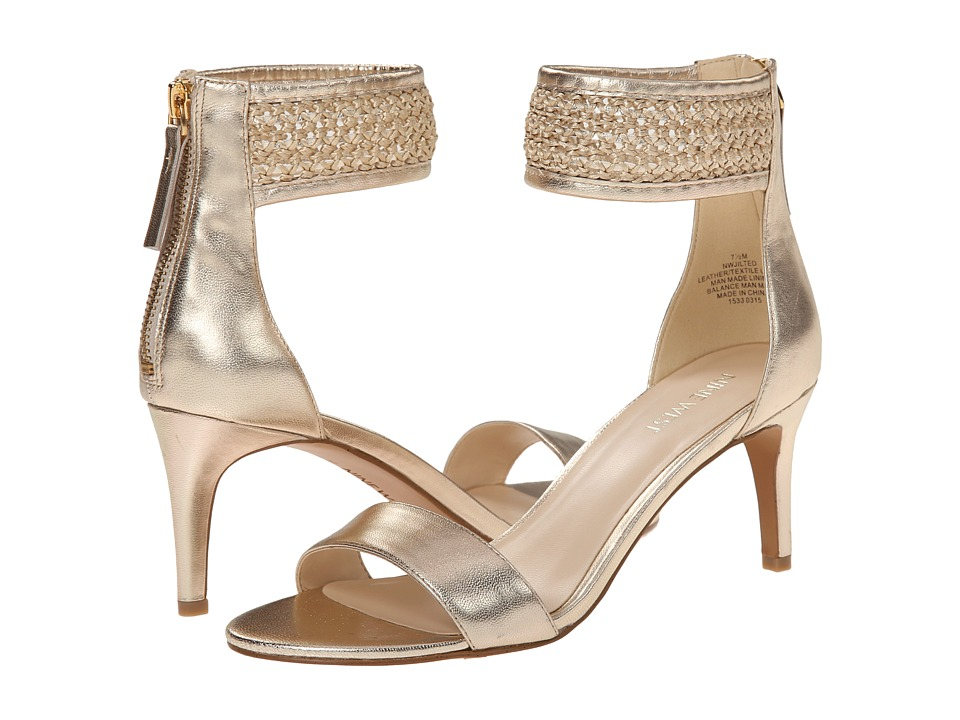 Nine West - Jilted (Light Gold/Light Gold Metallic) High Heels