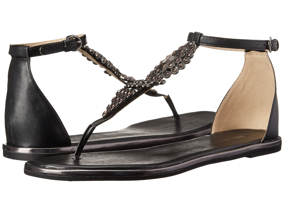 Nine West - Kascada (Black Synthetic) Women's Sandals