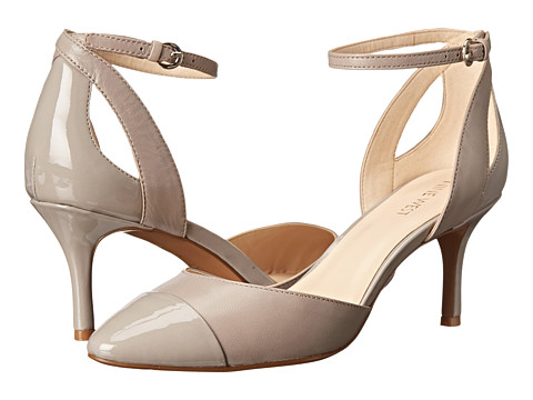 Nine West - Quietplz (Grey/Grey Leather) High Heels