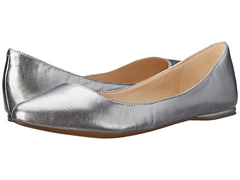 Nine West - SpeakUp (Silver Metallic 1) Women's Dress Flat Shoes