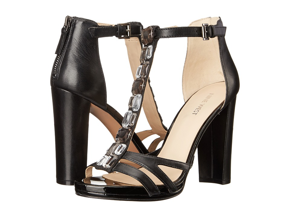 Nine West - Wiglie (Black/Black Leather) High Heels