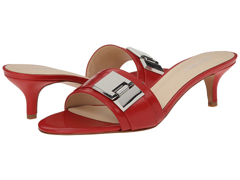 Nine West - Yulenia (Red Leather) Women's Sandals deal 2016