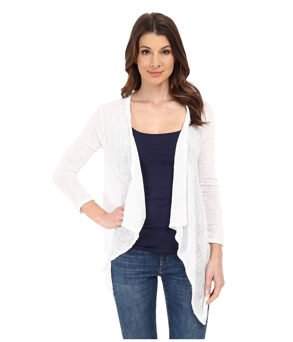 Velvet by Graham & Spencer - Dayo Cardigan (White) Women's Sweater