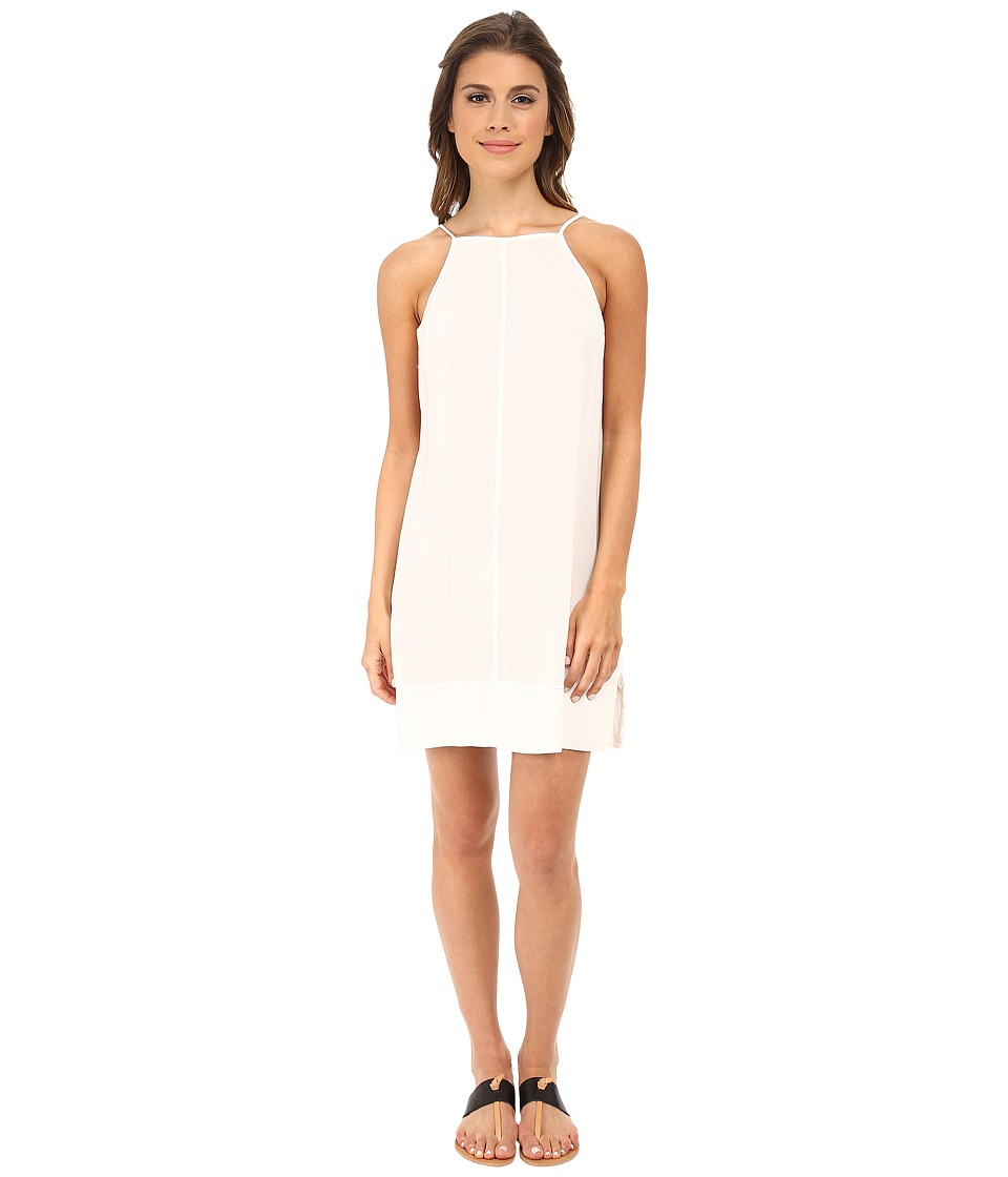 Free People - Sheila's Rayon Side by Side Slip (Ivory) Women's Sleeveless