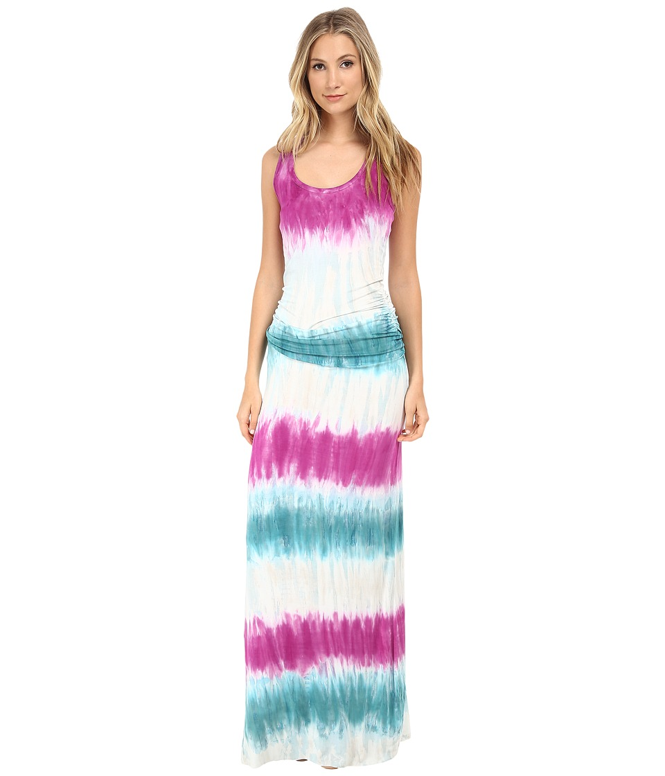 Young Fabulous & Broke - Hampton Maxi (Turquoise Ombre) Women's Dress