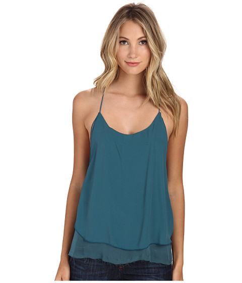 Free People - Poly Chiffon Two Times The Fun Cami (Dragonfly) Women