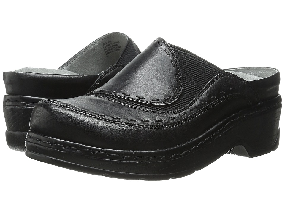 Klogs Footwear - Melbourne (Black) Women's Clog Shoes